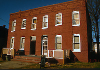1991 January ..Conservation.MidTown Industrial..BUILDING TO BE DEMOLISHED.318-320 25TH STREET...NEG#.NRHA#..