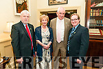 Ballydonoghue SGAA Social; Pictured at the Ballydonoghue GAA club social held at the Listowel Arms Hotel on Saturday night last were Tim & Monica O'Connor, Mike Flavin & John Stack.