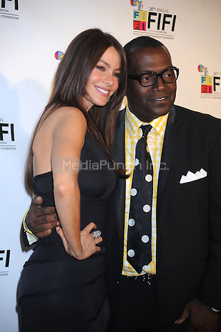 Sofia Vergara and Randy Jackson at the 2010 Fifi Awards at the New York State Armory in New York City. June 10, 2010. Credit: Dennis Van Tine/MediaPunch