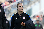 10 April 2016: Kelley O'Hara (USA). The United States Women's National Team played the Colombia Women's National Team at Talen Energy Stadium in Chester, Pennsylvania in an women's international friendly soccer game. The U.S. won the match 3-0.