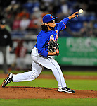 5 March 2012: New York Mets pitcher Danny Herrera in action during a Spring Training game against the Washington Nationals at Digital Domain Park in Port St. Lucie, Florida. The Nationals defeated the Mets 3-1 in Grapefruit League play. Mandatory Credit: Ed Wolfstein Photo