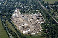 Gleisdreieck Wohnungsbau : EUROPA, DEUTSCHLAND, HAMBURG 21.06.2016: im Bau befindliches Wohngebiet Gleisdreieck Mittlerer Landweg