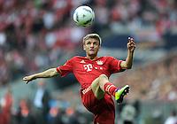 FUSSBALL   1. BUNDESLIGA  SAISON 2011/2012   1. Spieltag FC Bayern Muenchen - Borussia Moenchengladbach           07.08.2011 Thomas Mueller (FC Bayern Muenchen)