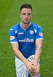 St Johnstone FC Photocall, 2015-16 Season....03.08.15<br /> Brad McKay<br /> Picture by Graeme Hart.<br /> Copyright Perthshire Picture Agency<br /> Tel: 01738 623350  Mobile: 07990 594431