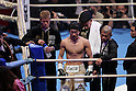 (L to R) Tomoki Kameda, Daiki Kameda (JPN), Koki Kameda, December 7, 2011 - Boxing : Daiki Kameda of Japan and Thepparith Kokietgym of Thai during the WBA Supwer-Flyweight Title bout at Osaka Prefectural Gymnasium in Osaka, Japan. (Photo by Akihiro Sugimoto/AFLO SPORT) [1080]