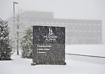Hudson Alpha Institute in snow on Christmas Day Dec. 25, 2010.  Bob Gathany Photographer