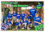 2015 Burlington North End Blue Lake Monsters