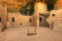 Spruce Tree House - Colorado - Mesa Verde NP - Kiva ladder