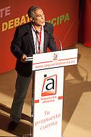 Gaspar Llamazares, leader of Izquierda Abierta