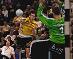 FinalFour, Handball Pokal, Halbfinale: THW Kiel - Rhein-Neckar Loewen und HSV - HSG Nordhorn