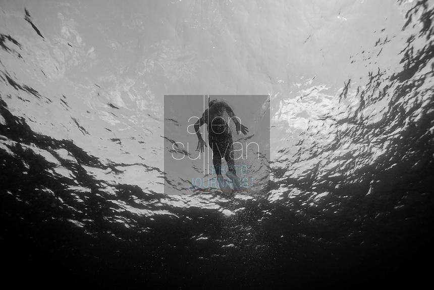 Freediver, Roatan