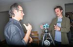 Josh Antonuccio, left, GRID Lab. © Ohio University / Photo by Ben Siegel