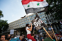 03.09.2013 - US Embassy: Protest Against Intervention in Syria