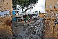 Nairobi, June 2010 - Cana children's home.