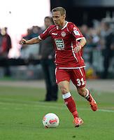 FUSSBALL 1. BUNDESLIGA   SAISON   2012/2013: RELEGATION   RUECKSPIEL 1. FC Kaiserslautern - TSG 1899 Hoffenheim         27.05.2013 Chris Loewe (1. FC Kaiserslautern) Einzelaktion am Ball