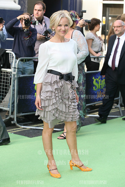 Lisa Maxwell attending the Shrek The Musical Press Night, at the The Theatre Royal, London. 14/06/2011  Picture by: Alexandra Glen / Featureflash