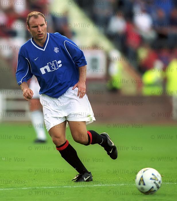 Dariusz Adamczuk, Rangers season 2000-01