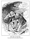 """The Lady in the Well. """"I keep trying to get out, but these gentlemen will quarrel so."""""""