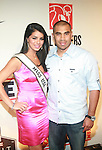"Miss USA Rima Fakih and MLB Player Ricky Romeo Attend the NFL Players Association Rookie Debut ""One Team Celebration"" Held at Cipriani Wall Street, NY  4/30/2011"