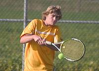 Boys Tennis vs Knightstown 9-23-08
