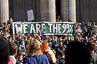 "15.10.2011 - Occupy LSX (London Stock Exchange) - ""We Are The 99%"""
