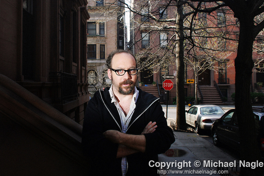 BROOKLYN -- APRIL 15, 2006:  Actor Paul Giammati poses for portraits on April 15, 2006 in Brooklyn.  (PHOTOGRAPH BY MICHAEL NAGLE)