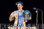 DJ Andrea Fidelio performing during the Circus Festival in Siamsa Tíre on Saturday