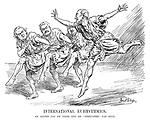 "International Eurhythmics. An Allied pas de trois and an ""Associated"" pas seul."
