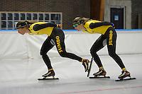 SCHAATSEN: LEEUWARDEN: 28-09-2016, Elfstedenhal, training, ©foto Martin de Jong