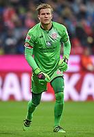 FUSSBALL  1. BUNDESLIGA  SAISON 2015/2016  24. SPIELTAG FC Bayern Muenchen - 1. FSV Mainz 05       02.03.2016 Torwart Loris Karius (1. FSV Mainz 05) ganz in gruen