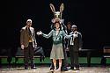 London, UK. 10.04.2013. Fabulous Beast Dance Theatre presents THE RITE OF SPRING at Sadler's Wells. Picture shows: Saku Koistinen, Rachel Poirier and Saju Hari. Photograph © Jane Hobson.
