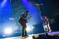 LAS VEGAS, NV - August 20, 2016: ***HOUSE COVERAGE*** Silversun Pickups perform at Brooklyn Bowl at The Linq in Las Vegas, NV on August 20, 2016. Credit: Erik Kabik Photography/ MediaPunch