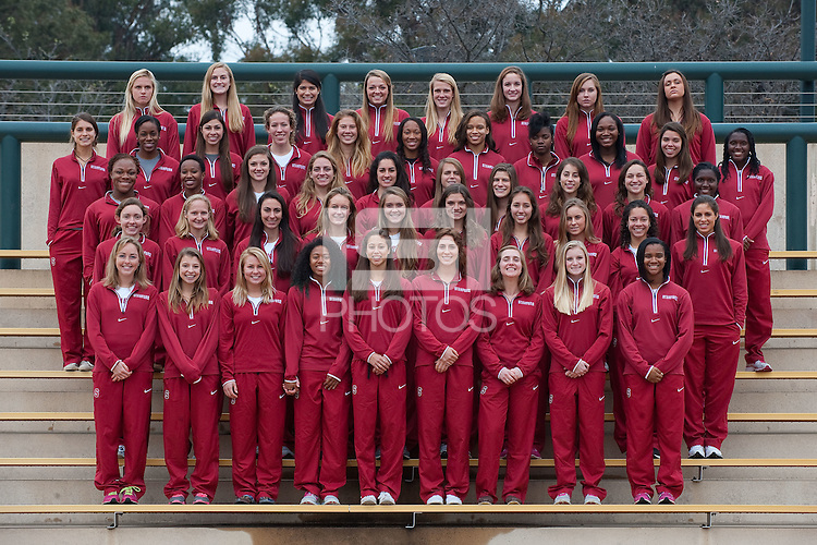 STANFORD, CA--2013 Stanford Track and Field team.