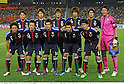 U-23Japan team group line-up(JPN),.FEBRUARY 22, 2012 - Football / Soccer :.Japan team group shot (Top row - L to R) Keigo Higashi, Yuya Osako, Hiroki Sakai, Mizuki Hamada, Daisuke Suzuki, Shuichi Gonda, (Bottom row - L to R) Yusuke Higa, Manabu Saito, Hotaru Yamaguchi, Takahiro Ogihara and Genki Haraguchi before the 2012 London Olympics Asian Qualifiers Final Round Group C match between U-23 Malaysia 0-4 U-23 Japan at National Stadium Bukit Jalil in Kuala Lumpur, Malaysia. (Photo by Takamoto Tokuhara/AFLO)