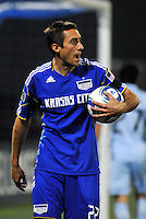 Davy Arnaud...Kansas City Wizards defeated Colorado Rapids 1-0 at Community America Ballpark, Kansas City, Kansas.
