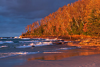 Miners Beach at Pictured Rocks National Lakeshore<br />
