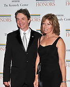 Washington, DC - December 5, 2009 -- Martin Short and his wife, Nancy, arrive for the formal Artist's Dinner at the United States Department of State in Washington, D.C. on Saturday, December 5, 2009..Credit: Ron Sachs / CNP.(RESTRICTION: NO New York or New Jersey Newspapers or newspapers within a 75 mile radius of New York City)