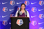 16 January 2015: Whitney Church (Penn State) was selected 30th overall by the Washington Spirit. The National Women's Soccer League Draft was held at the Pennsylvania Convention Center in Philadelphia, Pennsylvania.
