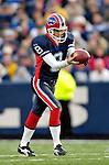 26 November 2006: Buffalo Bills punter Brian Moorman (8) in action against the Jacksonville Jaguars at Ralph Wilson Stadium in Orchard Park, NY. The Bills defeated the Jaguars 27-24. Mandatory Photo Credit: Ed Wolfstein Photo<br />