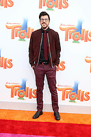 WESTWOOD, CA - OCTOBER 23: Christopher Mintz-Plasse at the premiere Of 20th Century Fox's 'Trolls' at Regency Village Theatre on October 23, 2016 in Westwood, California. Credit: David Edwards/MediaPunch