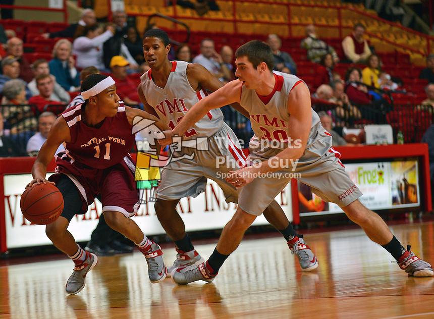 NCAA MBK: Central Penn 81, VMI 116 | The Sports Photo Guy