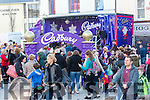 Enjoying the Fun when the Cadbury's Chocolate Truck came to the Square Tralee on Saturday