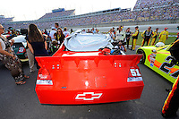 The Phoenix Racing #51on the grid.
