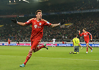 Fussball Bundesliga 2012/13: VFB Stuttgart - Bayern Muenchen