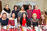 Some of the staff of the Fatima Nursing Home took a night out to mark the festive season in Denny Lane on Saturday nightFront l-r Sandra Moriarty, Aoife McAuliffe, Breda McAuliffe, Bridget Dowling, Sinead Mangan, Back l-r Karen Best, Helen Devane, Marian Long, Theresa Griffin, Mary Crean