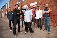 George Clarke of Channel 4's 'Great Property Scandal' visits Pleasley in Mansfield to see how Screwfix have helped out with essential products for the Houses to Homes project
