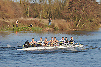 154 .RDU-Stewart .IM1.8+ .Reading Univ BC. Wallingford Head of the River. Sunday 27 November 2011. 4250 metres upstream on the Thames from Moulsford railway bridge to Oxford University's Fleming Boathouse in Wallingford. Event run by Wallingford Rowing Club.