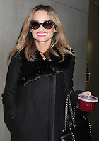 NEW YORK, NY - NOVEMBER 22: Celebrity chef Giada De Laurentiis, carrying a container of cranberry sauce, spotted leaving the 'Today' show in New York, New York on November 22, 2016.  Photo Credit: Rainmaker Photo/MediaPunch