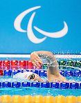 Abi Tripp, 15 years old, of Kingston, ON, competes in the  women's 400m freestyle S8 classification heats at Olympic Aquatics Stadium during the Paralympic Games in Rio de Janeiro, Brazil, on September 8, 2016.