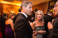 Barbara Walters, 2nd from right, attends the Bloomberg Vanity Fair White House Correspondents' Association dinner afterparty at the residence of the French Ambassador on Saturday, April 28, 2012 in Washington, DC. Brendan Hoffman for the New York Times